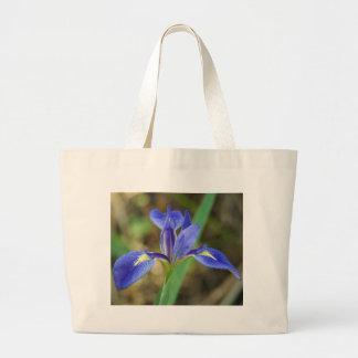 Florida Iris Large Tote Bag