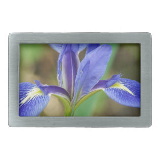 Florida Iris Rectangular Belt Buckle