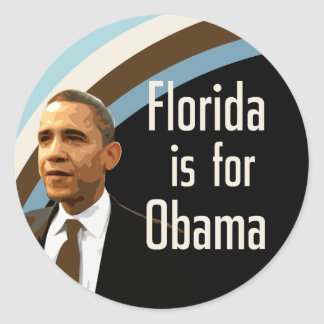 Florida is for Obama Sticker