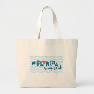 """Florida - Is my soul"" Tote Bag"