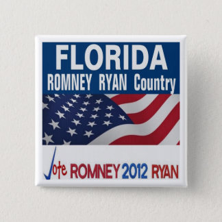 Florida is Romney Ryan Country Button