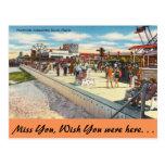 Florida, Jacksonville, Boardwalk Postcard