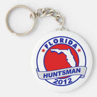 Florida Jon Huntsman Keychain