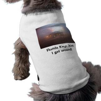 "Florida Keys 2011 - ""I get around"" Pet Tshirt"