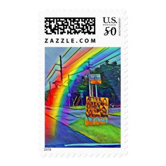 Florida Keys After A Hurricane Comes A Rainbow Postage