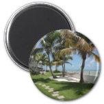 Florida Keys American Beach - ReasonerStore Fridge Magnets