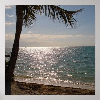 Florida Keys Beach Poster