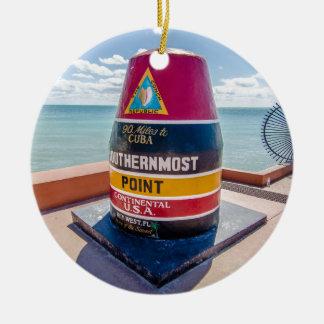 Florida Keys Ceramic Ornament