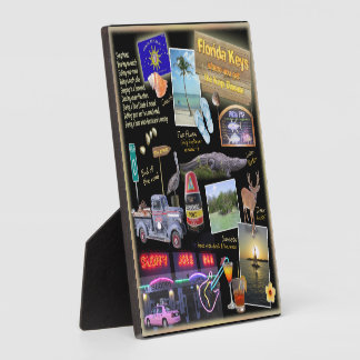 Florida Keys Collage Photo Plaques