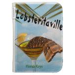 Florida Keys Lobsteritaville Kindle Case