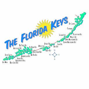 Florida Keys Map.Map Of The Florida Keys Clothing Zazzle