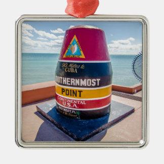 Florida Keys Metal Ornament
