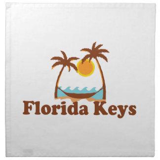 Florida Keys. Napkin