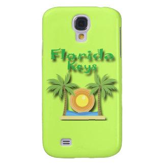 Florida Keys Palms green Samsung Galaxy S4 Case