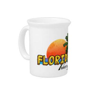 Florida Keys Pitcher