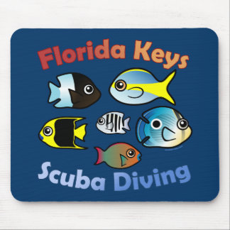 Florida Keys Scuba Diving Mouse Pad