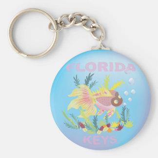 Florida Keys Souvenir Keychain