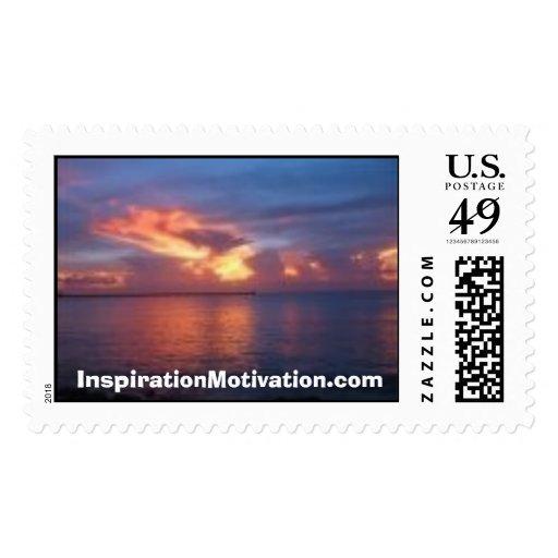 Florida Keys Sunset IM.com Postage Stamp