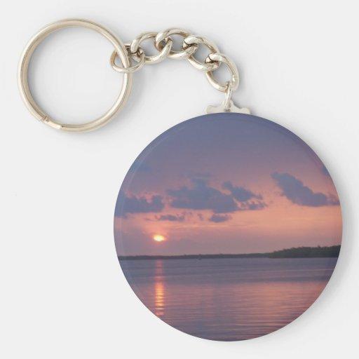 Florida Keys Sunset Keychains