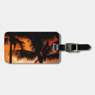 Florida Keys Sunset Tags For Bags