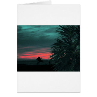 Florida Keys Sunset Notecard