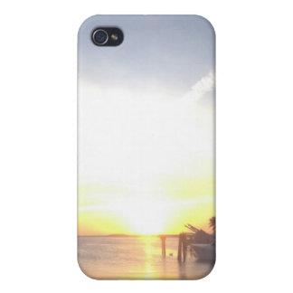 Florida Keys Sunset Phone Case For iPhone 4