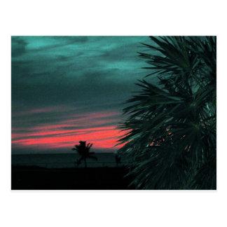 Florida Keys Sunset Postcard Large