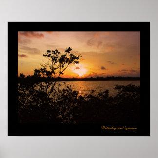 Florida Keys Sunset Poster