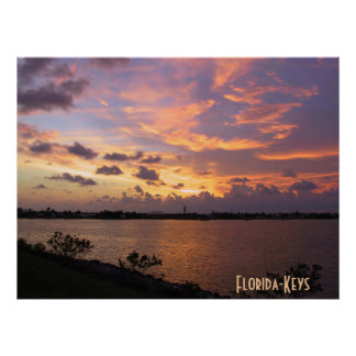 Florida-Keys Sunset Posters