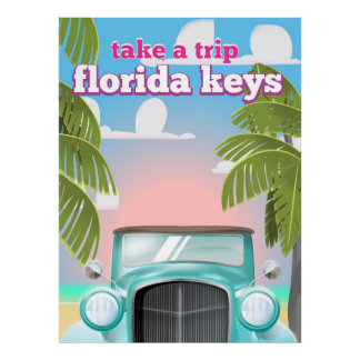 Florida Keys Travel poster