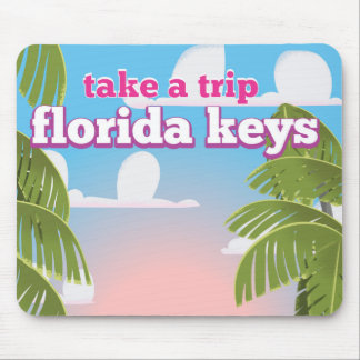 Florida Keys Travel poster Mouse Pad