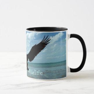 Florida Keys Wildlife Pelican Bird Coffee Mug Art