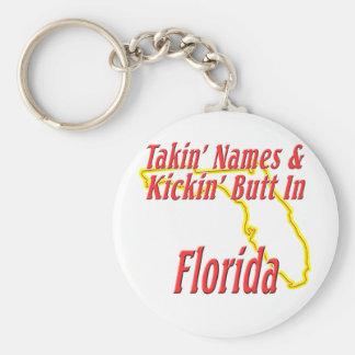 Florida - Kickin' Butt Keychain