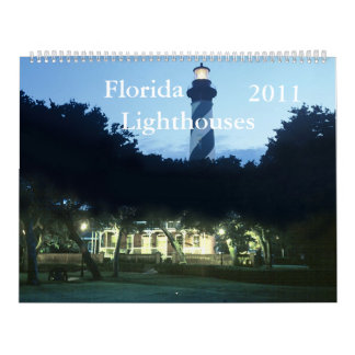 Florida Lighthouses 2011 Calendar