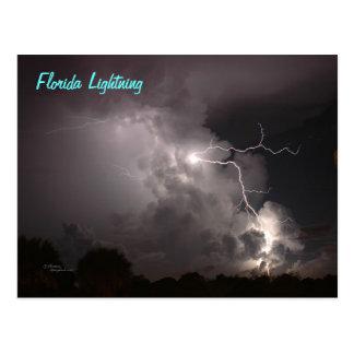 Florida Lightning Postcard