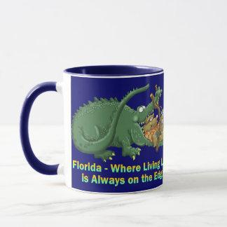 Florida - Living Life on the Edge Mug