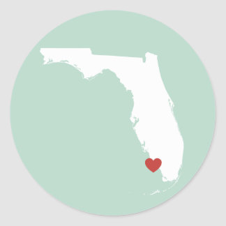 Florida Love - Customizable Sticker