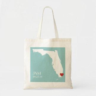 Florida Love - Customizable Tote Bag