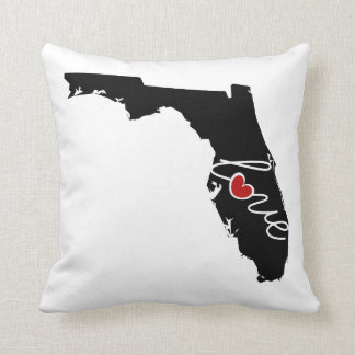 Florida Love!  Gifts for FL Lovers Pillow