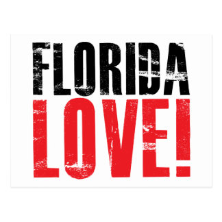 Florida Love Postcard