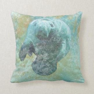 Florida Manatee | Throw Pillow