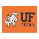 Florida Mascot Albert - Black & White Postcard