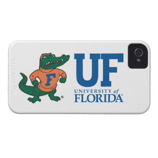 Florida Mascot Albert With Hat - Color iPhone 4 Case-Mate Cases