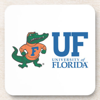 Florida Mascot Albert With Hat - Color Coasters