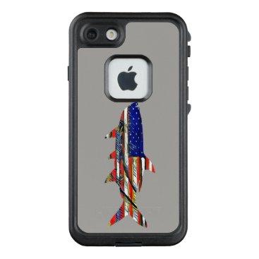 USA Themed Florida Merica Tarpon LifeProof FRĒ iPhone 7 Case