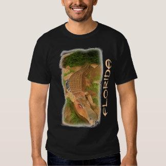 Florida metal gator guys shirt