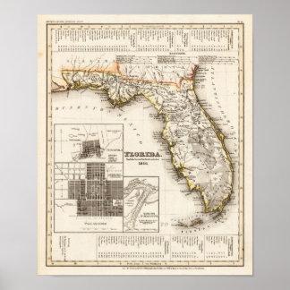 Florida Meyer, Joseph 1850 Print