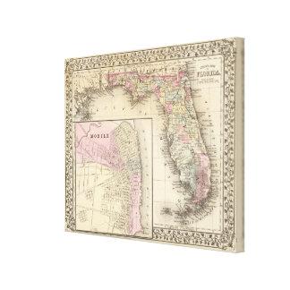 Florida, Mobile Canvas Print