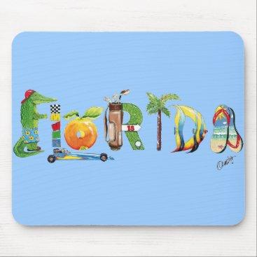Beach Themed Florida mousepad