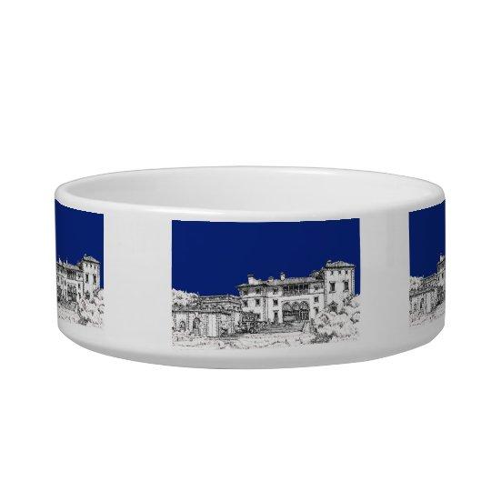 Florida museum in blue bowl